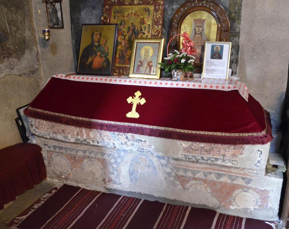 Место погребения св. Милицы