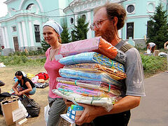 Russian Church organizes humanitarian aid to remote villages throughout the country