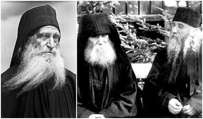 Слева направо: старцы Дионисий, Паисий и Клеопа. Фото: fanatik.ru