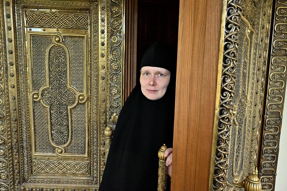 Евстафия (Морозова) – руководитель церковно-исторического кабинета