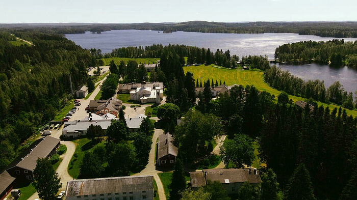 The Orthodox Christian monastery Valamo in Finland is a pilgrimage stop or spiritual retreat for 160,000 visitors a year Alessandro RAMPAZZO AFP/File