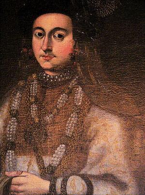 Мария Владимировна, княжна старицкая, королева ливонская, в постриге инокиня Марфа