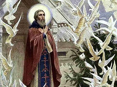 """""""St. Sergius is Always Ready to Guide us, Even Today"""""""