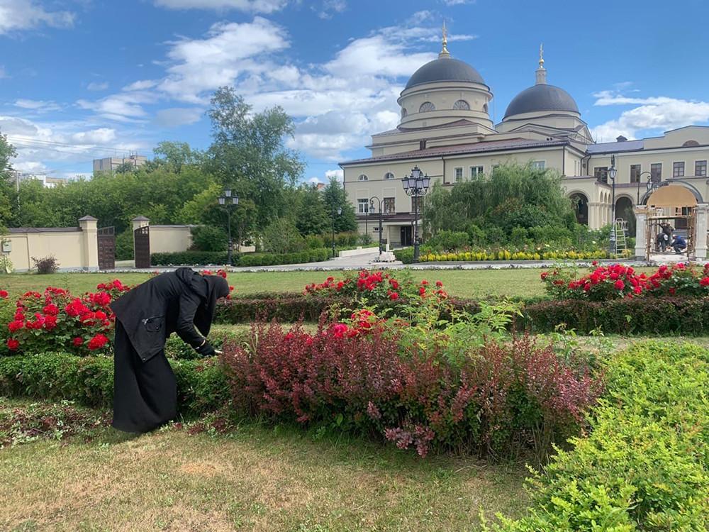Монастырский садик