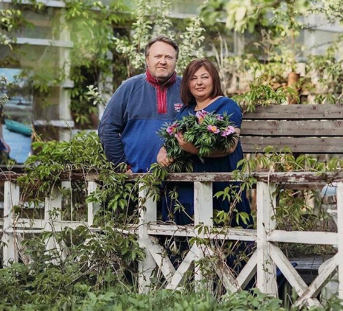 Стивен и Наталья Уильямс, семейная цветочная ферма