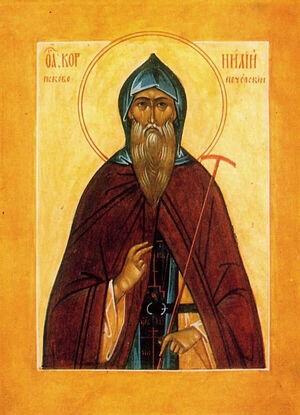 St. Cornelius of the Pskov Caves Monastery