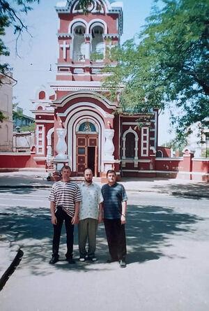 Около одесского храма Святителя Григория Богослова
