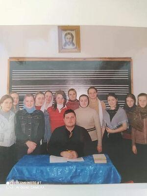 В годы преподавания в Одесской духовной семинарии