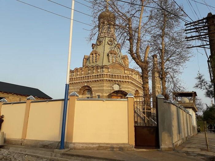 Храм Архангела Михаила. Бохтар