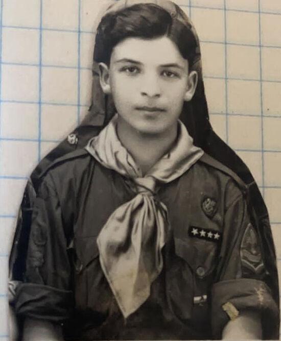 Мой дедушка Виктор Алексеевич, русский скаут-разведчик