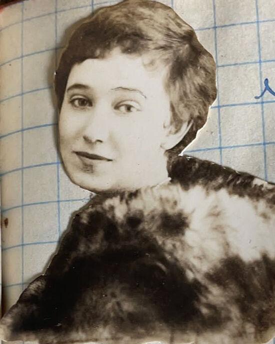 Бабушка Евгения Васильевна