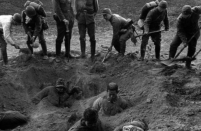 Mass executions of Chinese in Nanjing