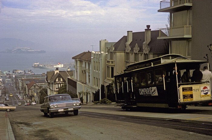 San Francisco in the 1950s