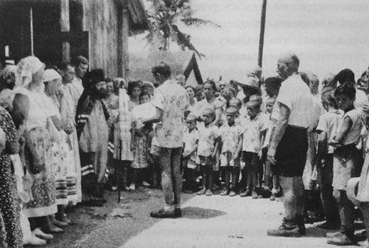 St. John of Shanghai on Tubabao, 1949