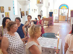 Albanians continue to turn to Christ in Holy Baptism
