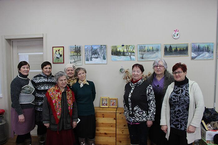 Встреча с жителями деревни Бызовая