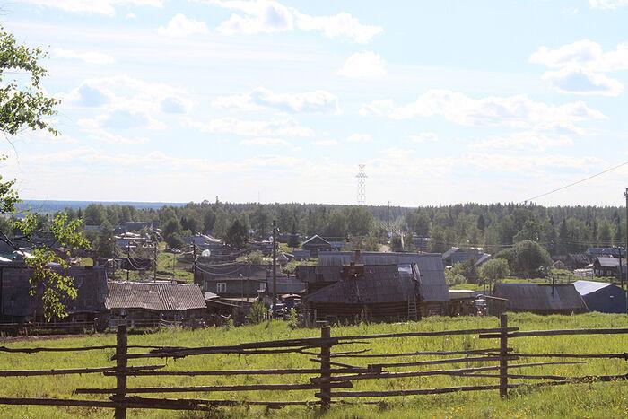 Деревня Бызовая
