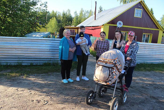 Летом Бызовая оживает – приезжают дети и внуки