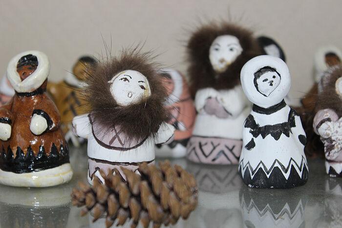 Сувениры из глины бызовских мастериц