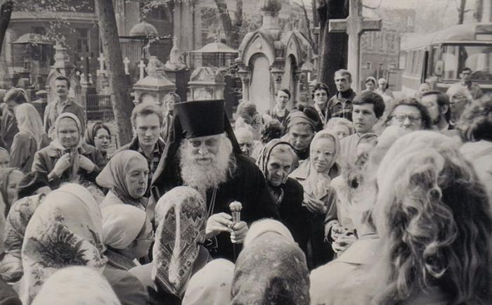Епископ Василий (Родзянко) в России