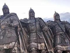 Сборка скульптур Александра Невского и дружины на берегу Чудского озера начнется сегодня