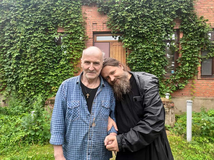 Иеромонах Косма (Афанасьев) и Петр Мамонов
