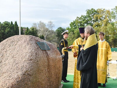 Председатель Патриаршего совета по культуре освятил закладной камень на месте будущего строительства историко-археологического парка в Херсонесе