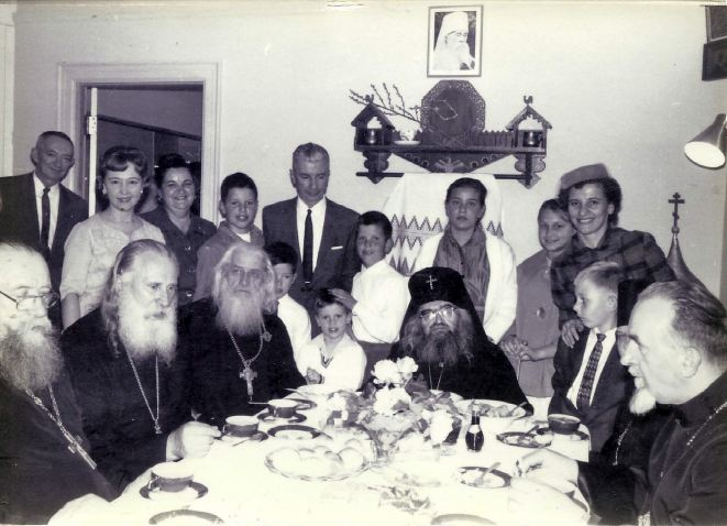 St. John at a festal meal