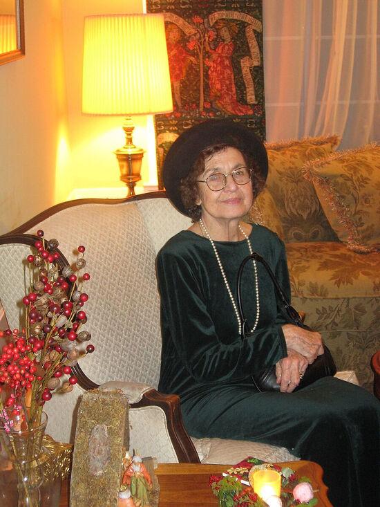 Mama, Eugenia Olegovna Isaeva-Paphnutieva