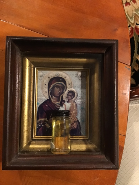 Myrrh from the Montreal Iveron Icon of the Mother of God