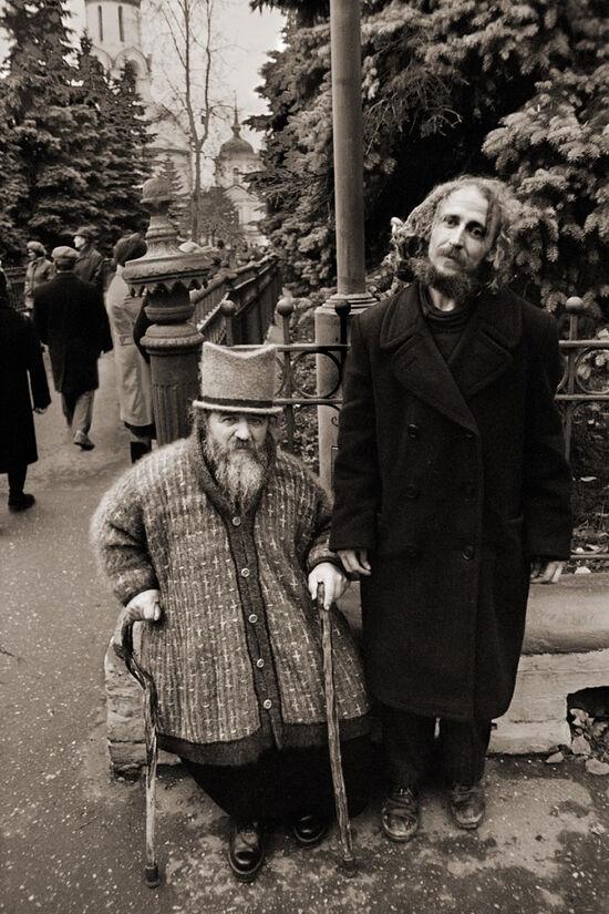 Юродивые странники Михаил и Николай. Фото: Анатолий Горяинов