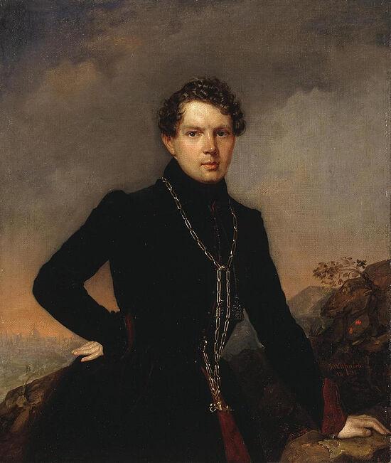 Портрет А. Н. Муравьёва. 1838 г.