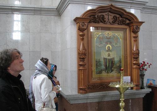 00 В Хабаровском Преображенском соборе у Порт-Артурской иконы Божией Матери, 25 мая 2013 г.