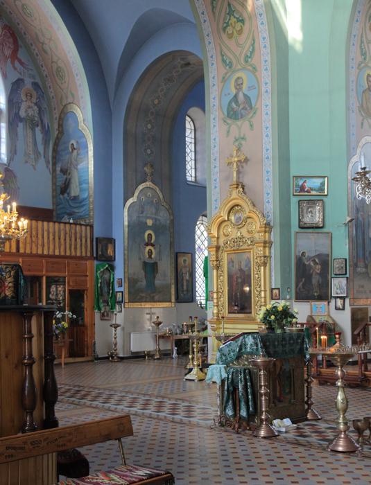 Порт-Артурская икона в Казанском храме г. Харькова, 25 июня 2013 г.