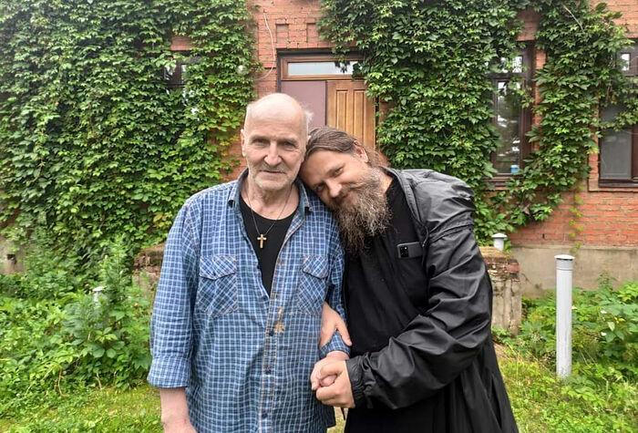 Јеромонах Козма (Афанасјев) и Петар Мамонов