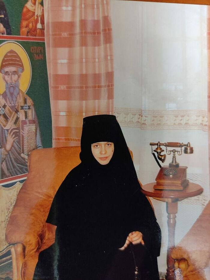 Elder sister of the Skete of St. Anna
