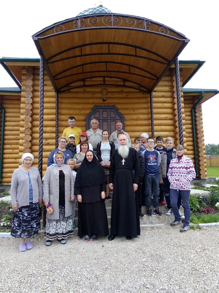 At the monastery's dependency