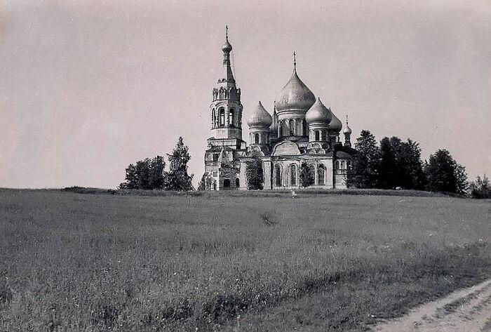 Храм Рождества Богородицы в Пенино. Осень 1941 года