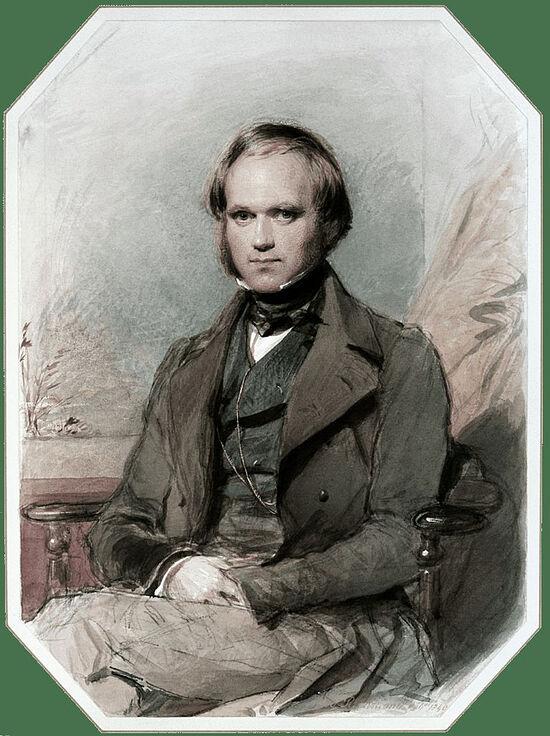 Charles Darwin in the 1830s