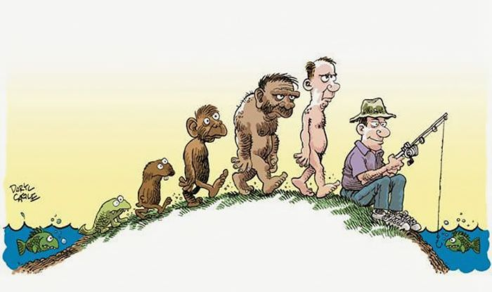 Evolution with a sense of humor