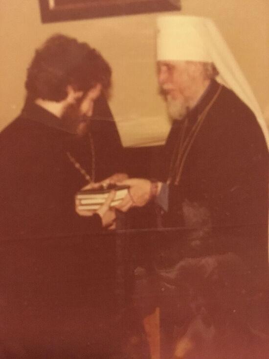 Fr. Eugene with Metropolitan Anthony