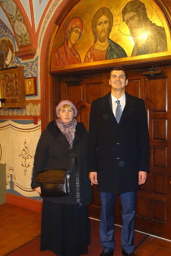 Mikhail Arsentiev and Olga Rozhneva