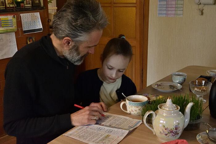 Михаил и София занимаются математикой
