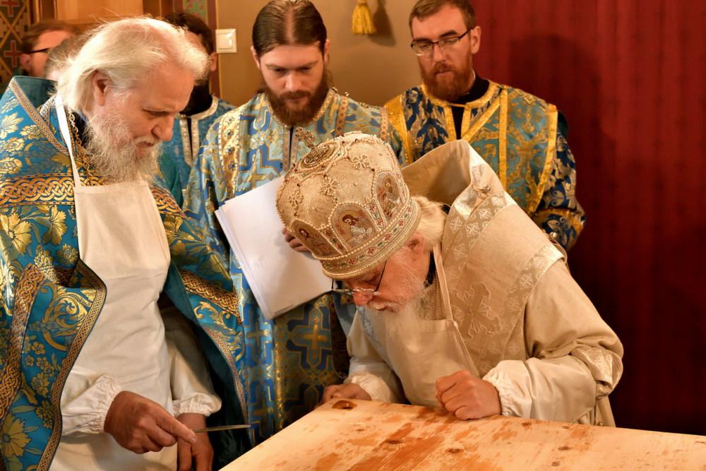 Епископ Пантелеимон (Шатов) и протопресвитер Владимир Диваков
