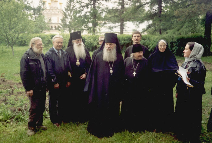 Архиепископ Алексий (Фролов) с митрополитом Питиримом (Нечаевым)