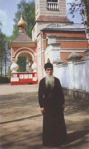 Архимандрит Кирилл (Павлов) в Переделкино