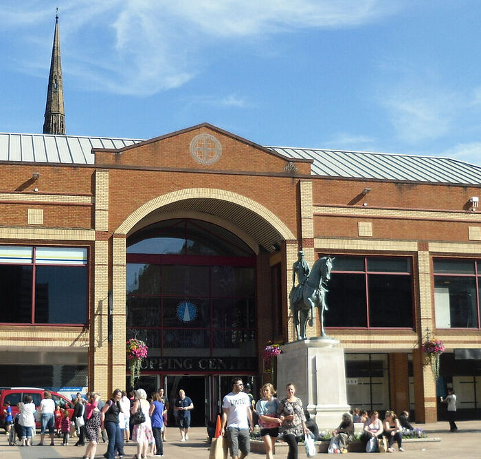 A monument to Lady Godiva in Coventry, West Midlands (photo by Irina Lapa)