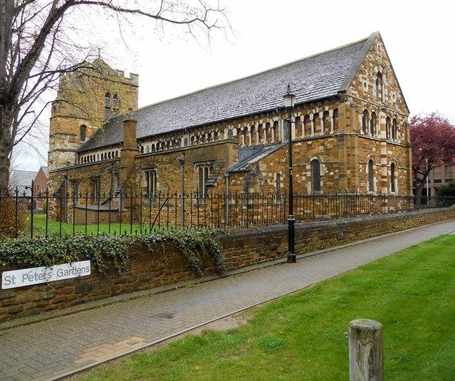 St. Peter's Church in Northampton, Northamptonshire