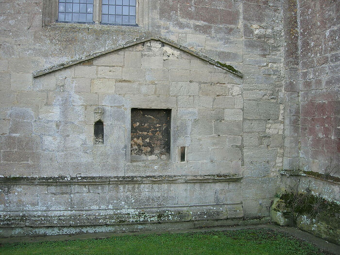 The site of St. Tibba's supposed cell by St. John's Church in Ryhall, Rutland. Photo provided by Dr. Avril Lumley-Prior