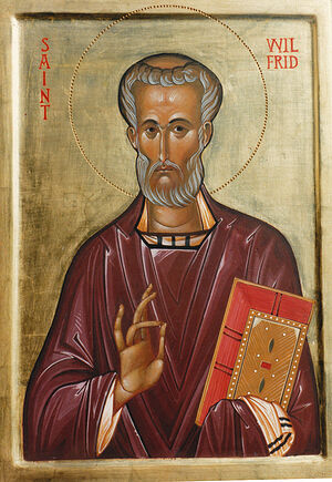 Икона свт. Вильфрида Йоркского